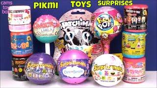 Toy Surprises Pikmi Pops Fashems Mashems Surprizamals 6 Care Bears Cake POP TOYS