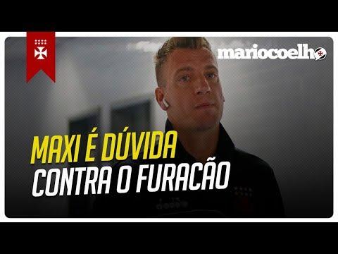 MAXI LÓPEZ PODE NÃO JOGAR | PROVÁVEL ESCALAÇÃO PRA VASCO X ATLÉTICO PR | Notícias do Vasco Da Gama