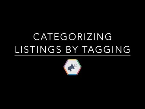 listing management 12 how to categorize listings