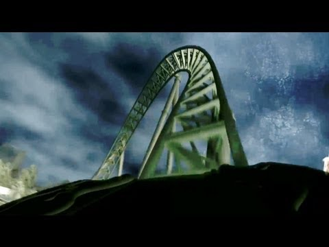 Projekt Helix POV Liseberg New 2014 Mack Launched Roller Coaster Sweden