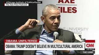 CLIP: Barack Obama on Race in America
