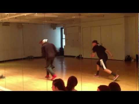 "Robert Taylor Jr Teaches Hip-Hop/Street-jazz to ""Blowin Me Up (With Her Love)"" by JC Chasez-10-7-12"