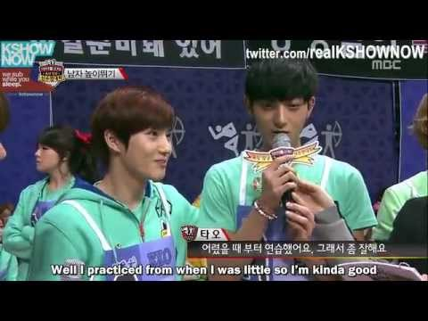 [FULL ENG] 2013 Idol Sports Competition 4/9