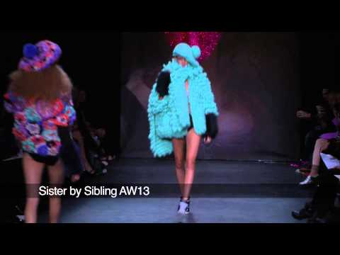 Sister by Sibling London Fashion Week show: Sister by Sibling AW 2013 Collection
