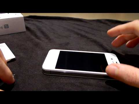 Unboxing apple iPhone 4s bianco italiano