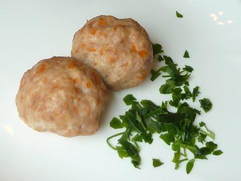 Мясные тефтели с тыквой, запеченные в духовке Meatballs