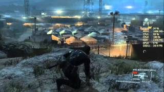 FPS Тест Pentium g3240 3.1Ghz + GTX 660 2Gb + Afterburner MGS V - Ground Zeroes