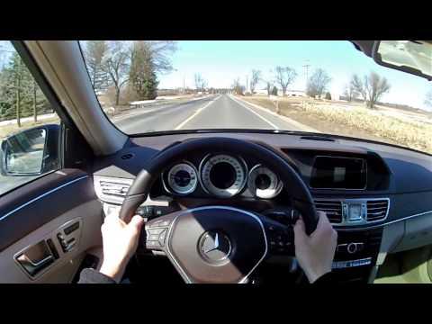 2014 Mercedes-Benz E250 BlueTEC - WR TV POV Test Drive