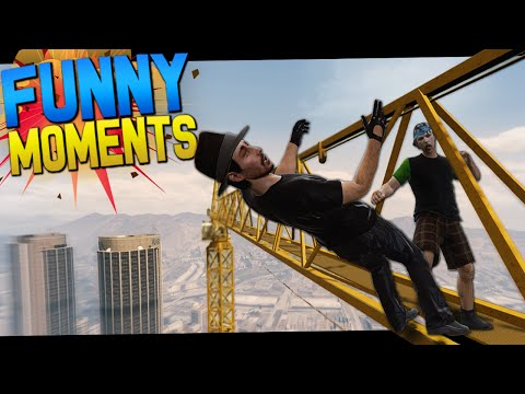 GTA 5 Online Funny Moments - Super Speed, Human Bowling, Grenades!