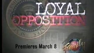 """""""Loyal Opposition"""" TV movie commercial (1998)"""