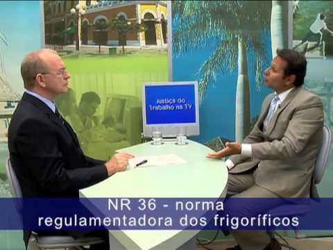 Bloco 1/3 - NR dos Frigoríficos: contra as doenças ocupacionais