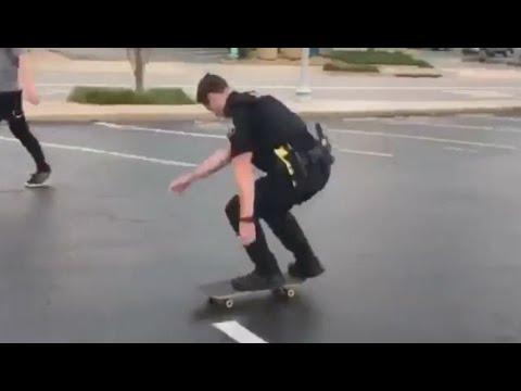 INSTABLAST! POLICE Fakie 540 Bigflip BRUTALITY! Skim Skateboarding, Bowerbank Back 360 Nose Manual
