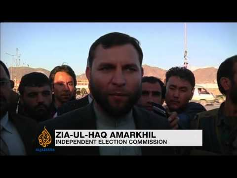 Taliban attack election office in Kabul