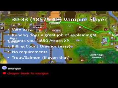 1-40 Attack Guide   Runescape 2007