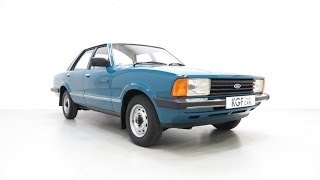 A Superb Original Ford Cortina Mk5 1600L with an Incredible 28,966 Miles from New - £5,895