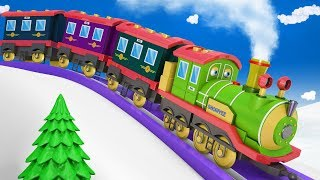 Train - Trains for Kids - Cartoon Cartoon - Cartoons for Children - Toy Factory Train - Thomas Train