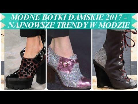 Modne Botki Damskie 2017   Najnowsze Trendy W Modzie