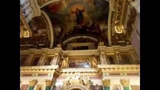 Внутри Исаакиевского собора