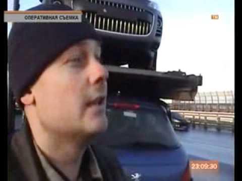 Автовоз не довез груз до автосалона всего километр   Новости   СПбВодитель