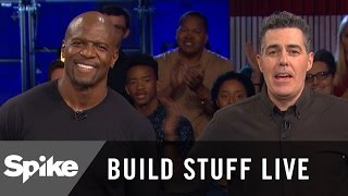 Terry Crews on What's Tougher: Hollywood or The NFL? | Build Stuff Live