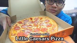 Little Caesars Five Meat Pizza AND NEW COOKIES!
