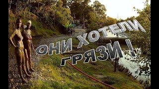 Летаем прямо посреди сероводородного источника, село Кындыг, Абхазия