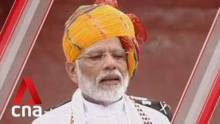 Indian PM Modi hails Kashmir decision in Independence Day speech