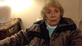 Intervista ad Adriana Iannilli di 98 anni sul tema Assistenza agli anziani