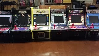 My Arcade Micro Player Retro Arcade pt.3 - Dig Dug & BurgerTime unboxing & game play