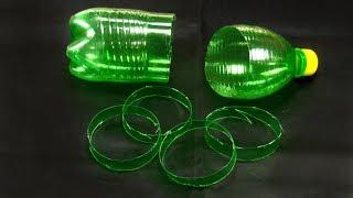 plastic bottle craft idea   best out of waste   plastic bottle reuse idea