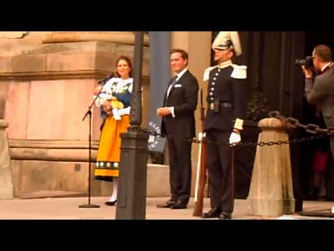 Princess Madeleine opens The Royal Palace of Stockholm 2014