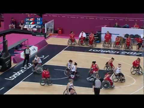 Wheelchair Basketball - Women's Classification Playoff - CAN vs MEX - London 2012 Paralympic Games