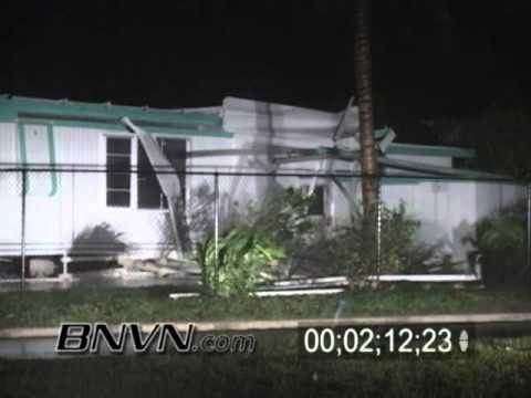 Hurricane Frances Video, Fort Pierce, FL and Hutchinson Island, FL Part 11