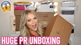 HUGE PR UNBOXING HAUL | FREE MAKEUP BEAUTY GURUS GET