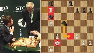Unbelievable! Magnus Carlsen Loses Because His Opponent Made an Illegal Move | WBC | Round 1
