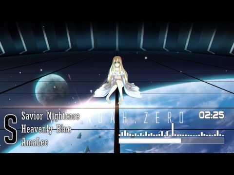 Nightcore : Heavenly Blue | ENGLISH Ver | /【Aldnoah.Zero OP】「Amalee」