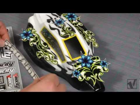 How-to RC Car Body Painting with Stickers - VRC Magazine
