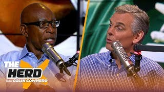Eric Dickerson gives insight on Zeke's holdout, talks Le'Veon, Baker & Jared Goff | NFL | THE HERD