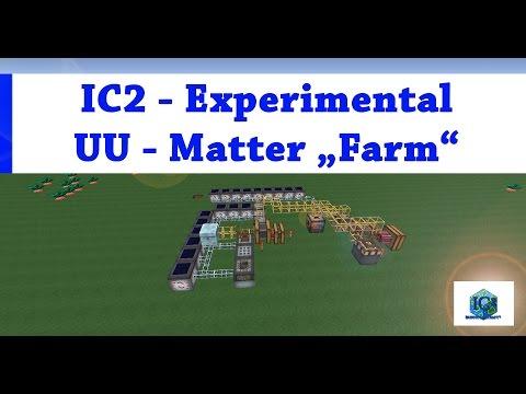 Minecraft Industrial Craft 2 (IC2) Experimental: UU-Matter, Replicator, Scanner & etc. [ENG]