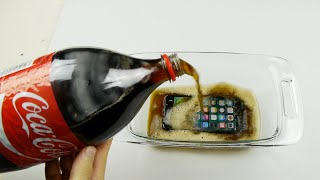 Will an iPhone 7 Survive in Coca-Cola Freeze Test for 12 Hours?