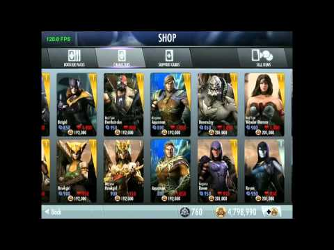 Injustice iOS - New 1.7 Update Full Review
