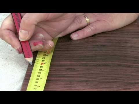How To Make A Timber Veneer Contact Clock  - Bunnings (D.I.Y. Video)