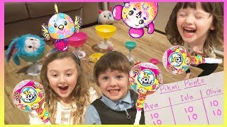 Pikmi Pops Surprise Toys Challenge | Fun Game for Kids to Play