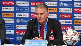 Iran v Yemen post-match press conference