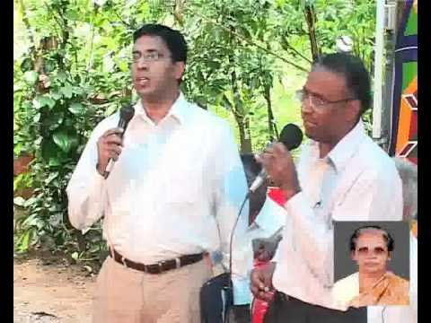 Mrs Saramma George Podimannil, Koottala,Thrissur Funeral - Grand son Dr. Paul Mathews - l