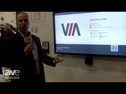 ISE 2016: Kramer Gives rAVe a Look at the Popular Huddle Space, including the VIA Connect PRO