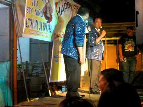 Asado duo live at mabagos (tondo fiesta) laughtrip! haha!
