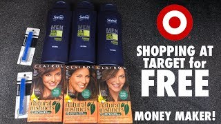 🎯 Shopping at Target for FREE! - Target Freebies - 32 cent MONEYMAKER!