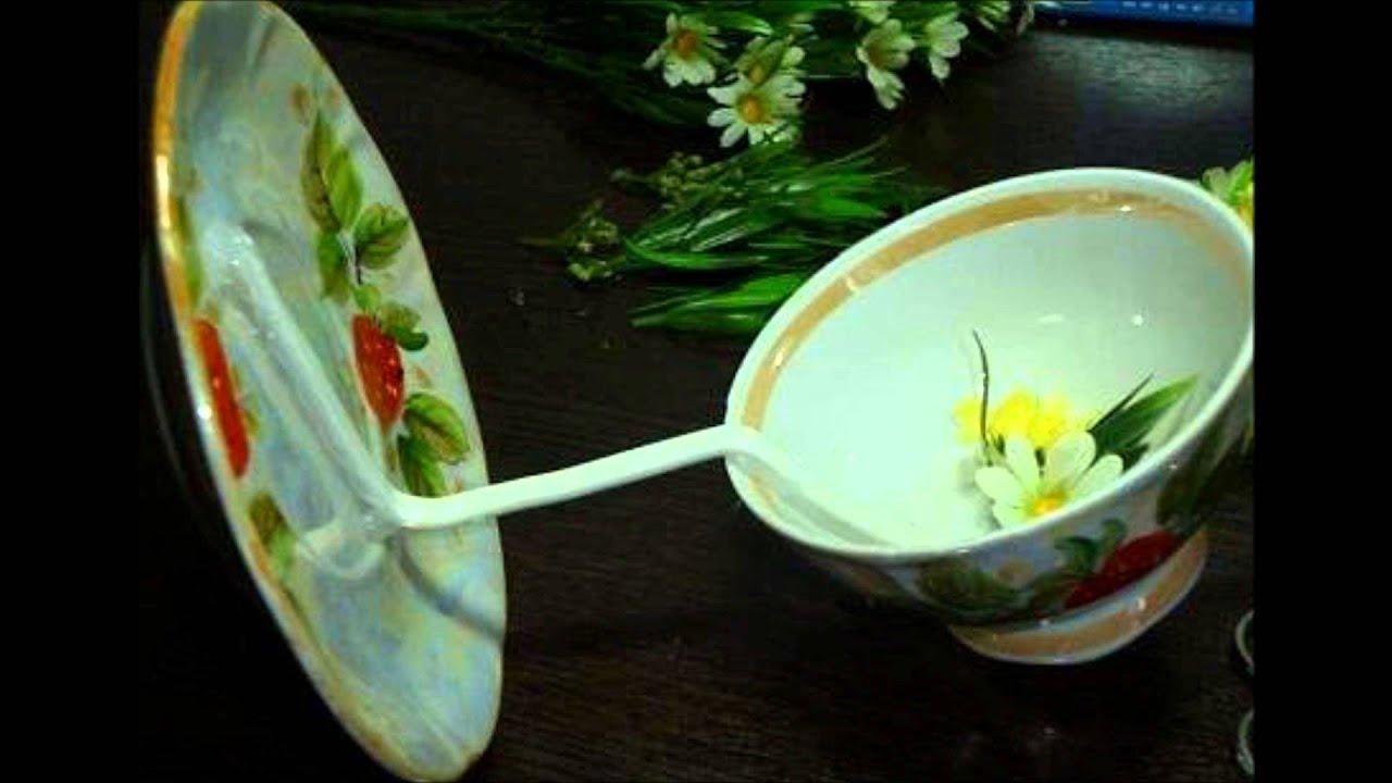 Как сделать тарелку для цветов