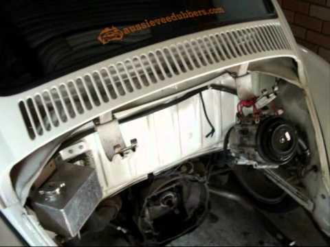 Part1 Removing the Subaru EJ22 motor